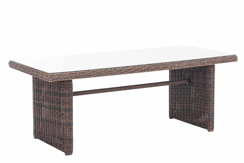 Wicker tafel Fontana XL