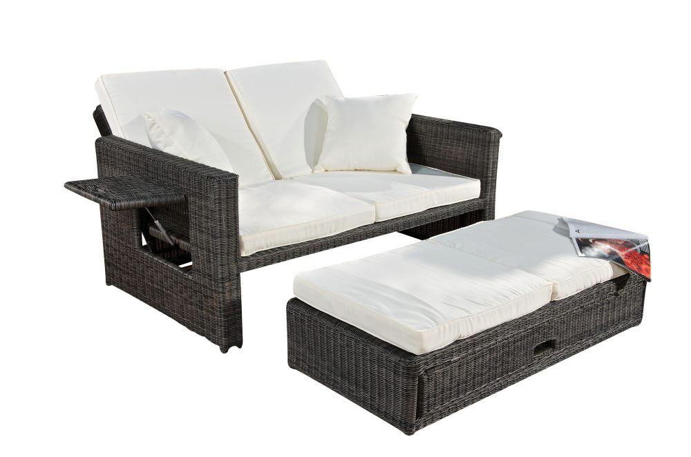 Sofa Ancona 3mm Rundrattan