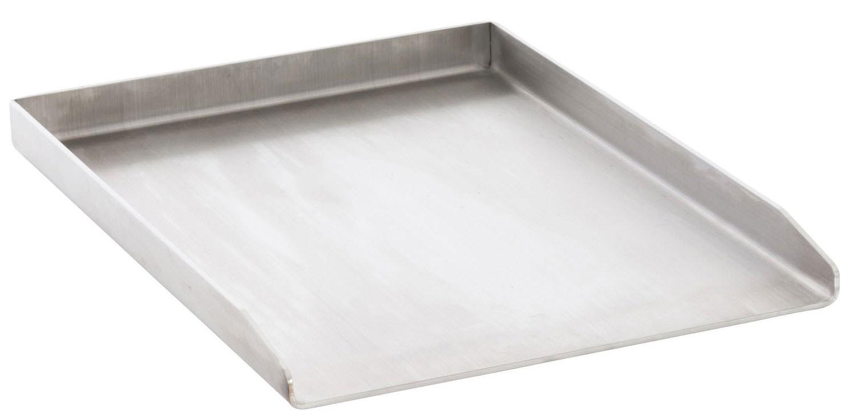 Grillplaat van roestvrij staal