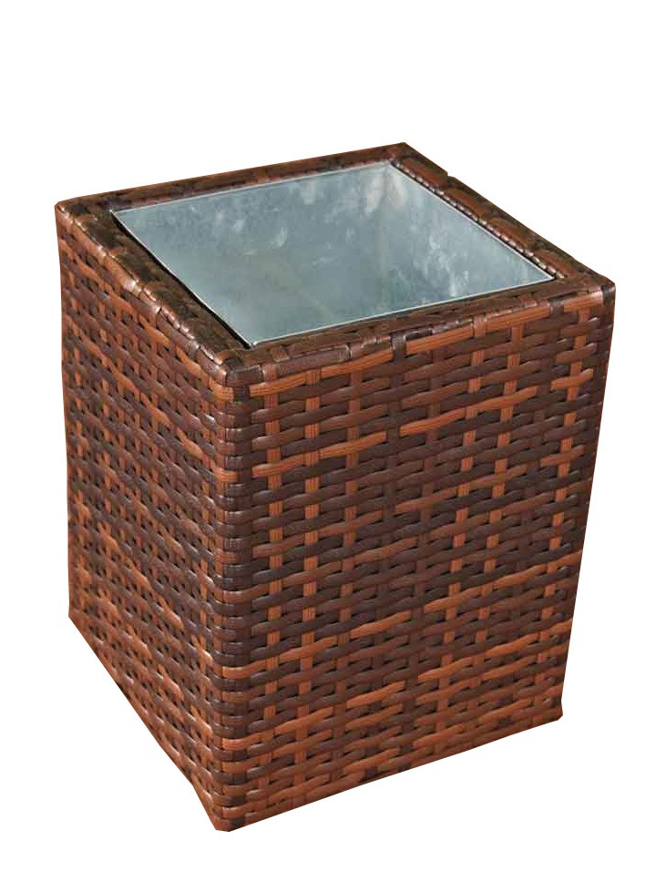 Wicker Bloembak Laura M