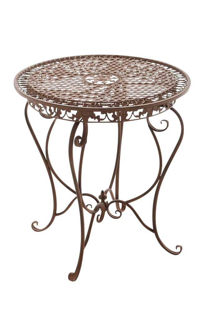Ronde ijzeren tafel LIVIANA Ø 68 cm