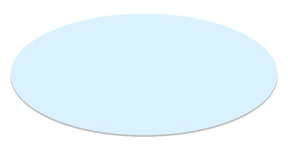 Glazen blad tuintafel Farsund 90x90 cm