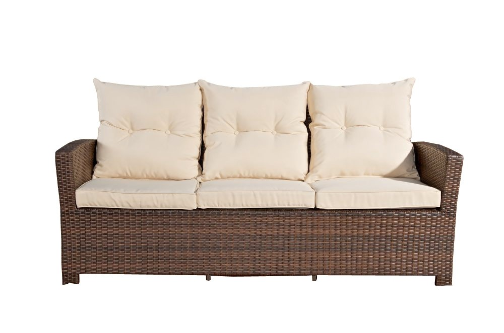 Wicker Driezitsbank Fisolo