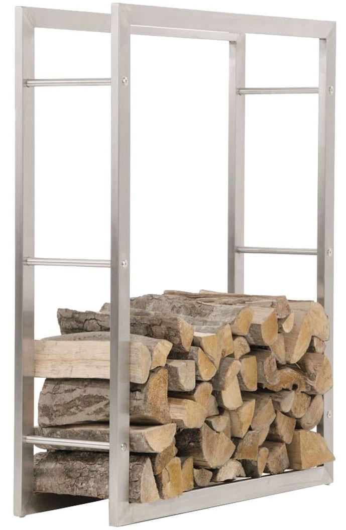 Brandhoutstandaard KERI RVS