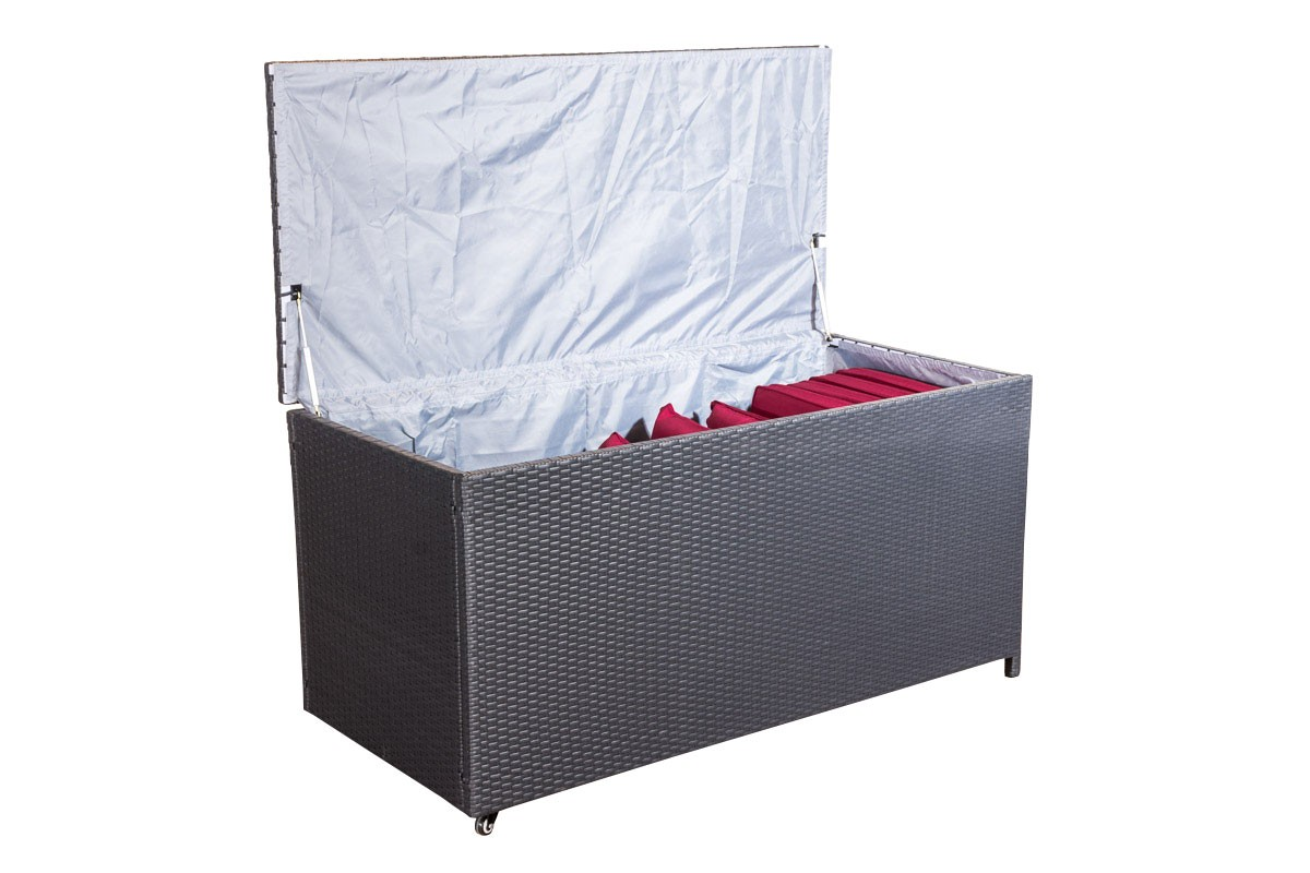 Kussenbox Kudde 150 cm 1,25 mm Poly-rotan