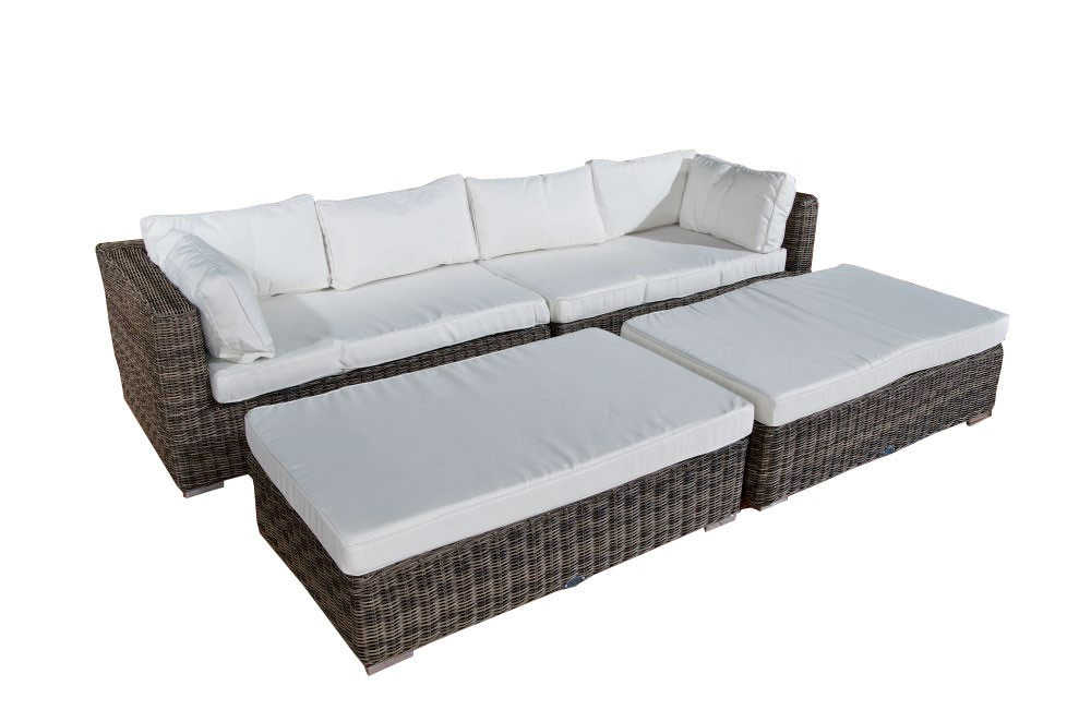 Wicker Loungebed Terrassa