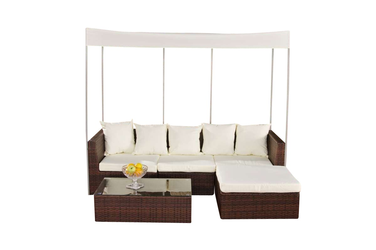 Wicker Loungeset Marsala