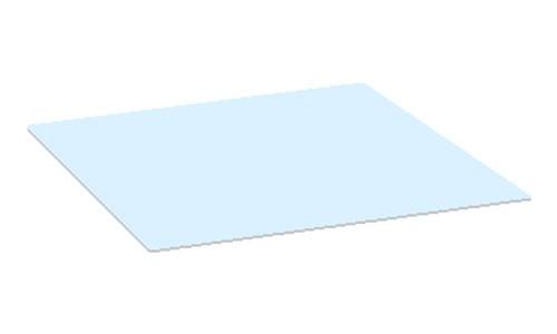 Glazen blad tuintafel Piri 60x60 cm