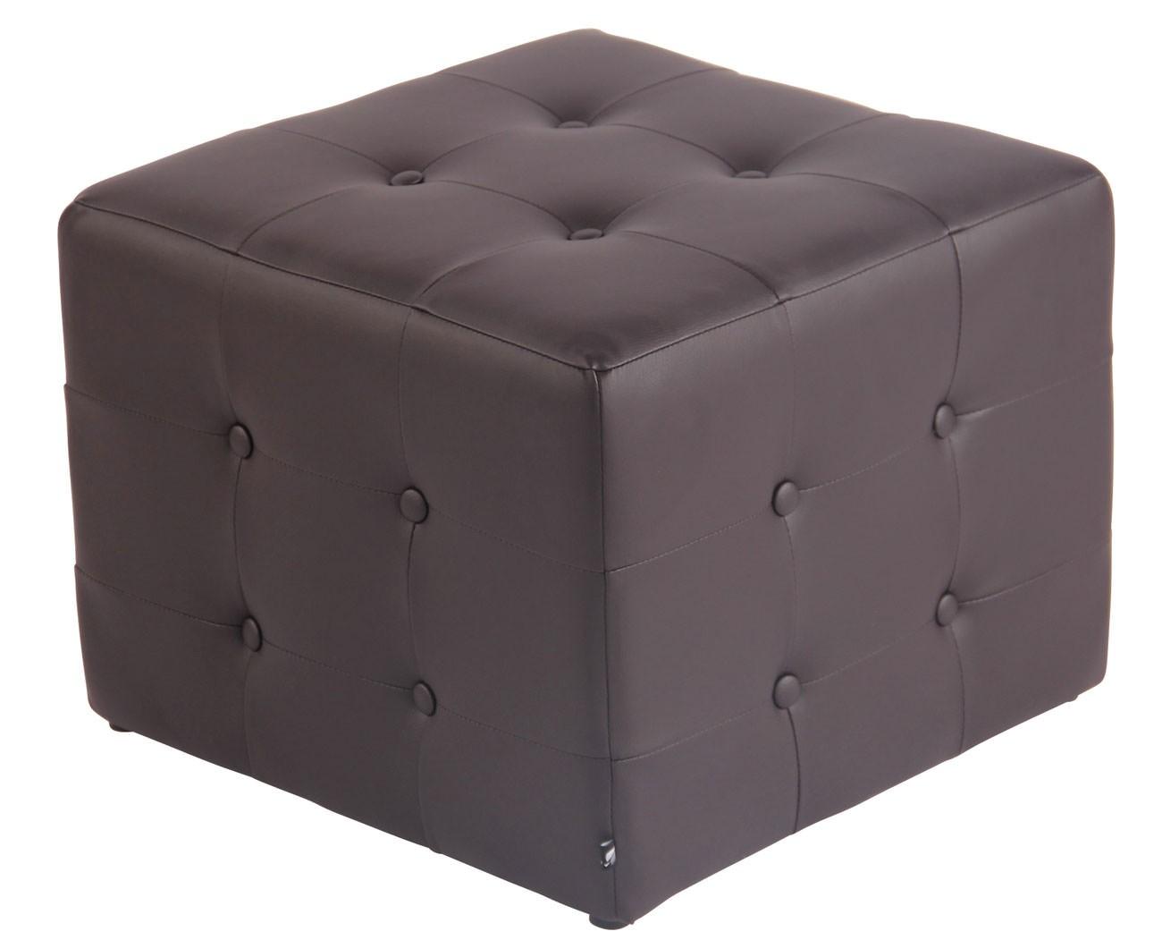 Hocker Cubic, kunstleer