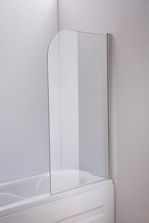 Douchewand Nano voor badkuip 140x80 cm