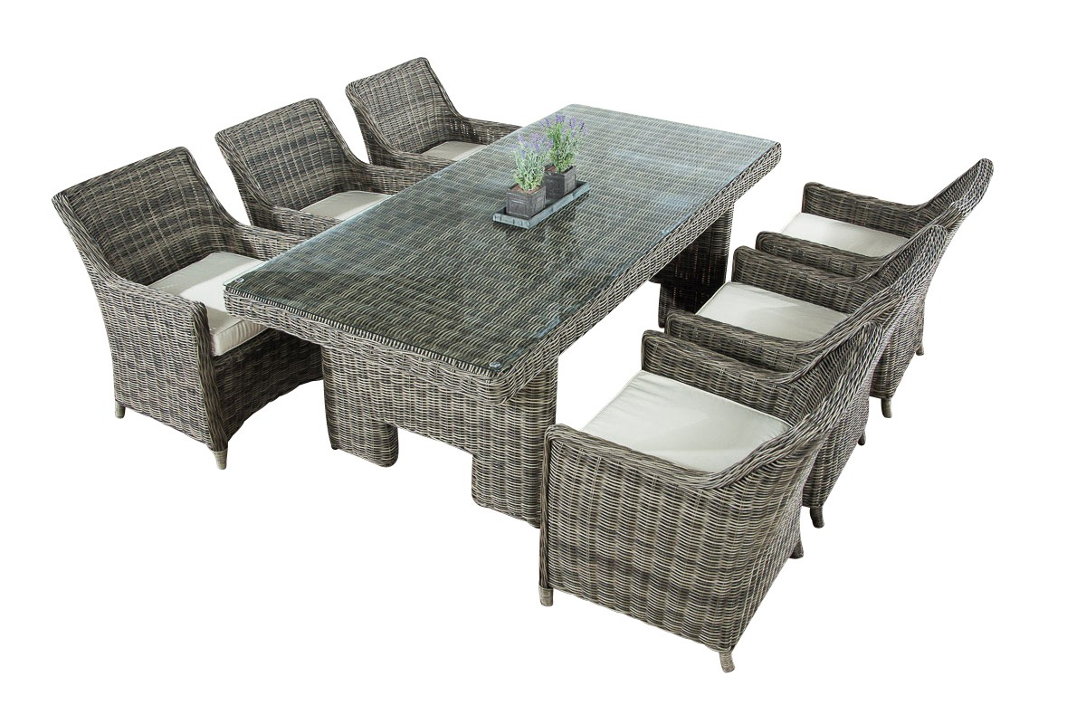 Luxe Dining Tuinset Sandnes 5mm