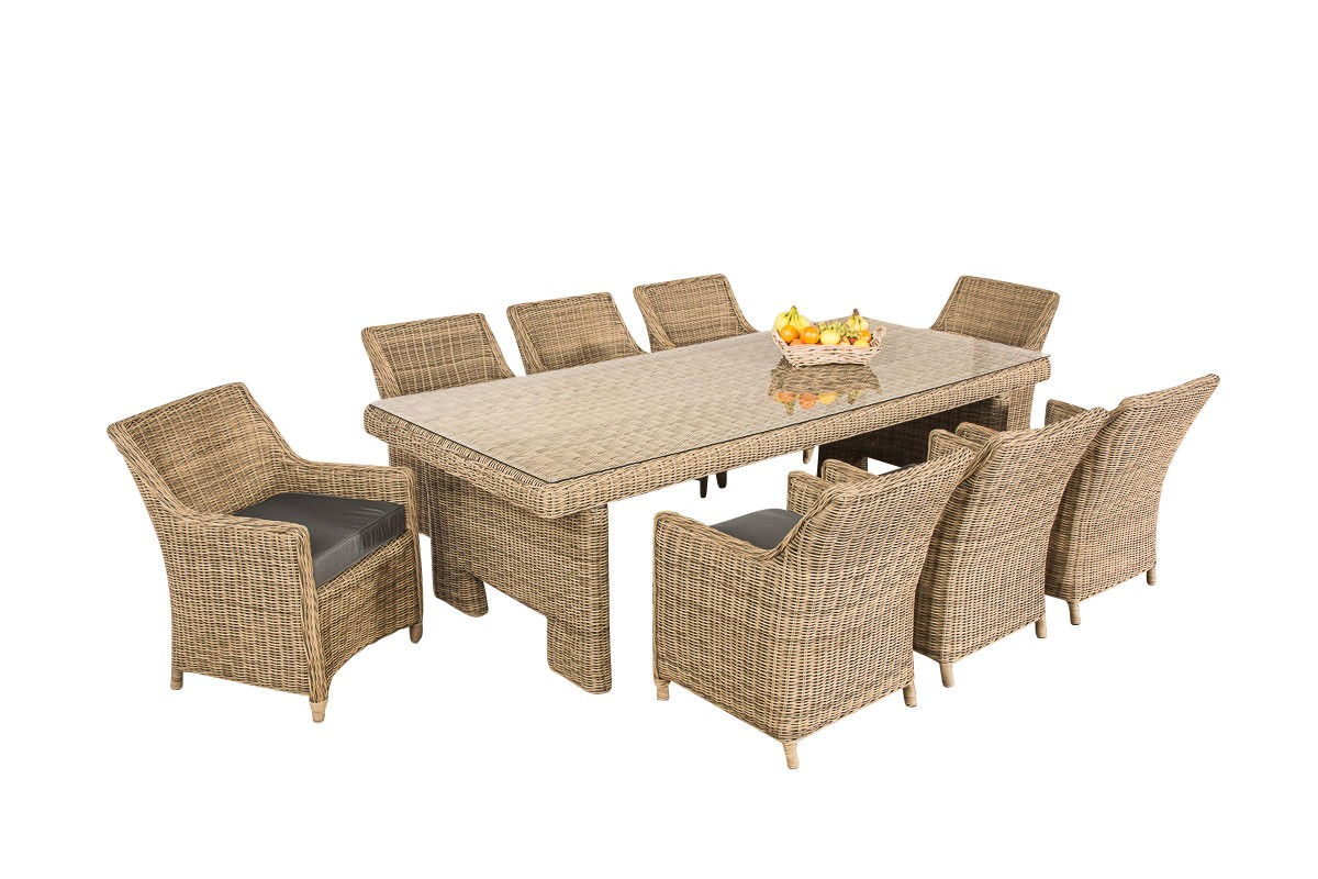 Luxe Dining Tuinset SANDNES XL
