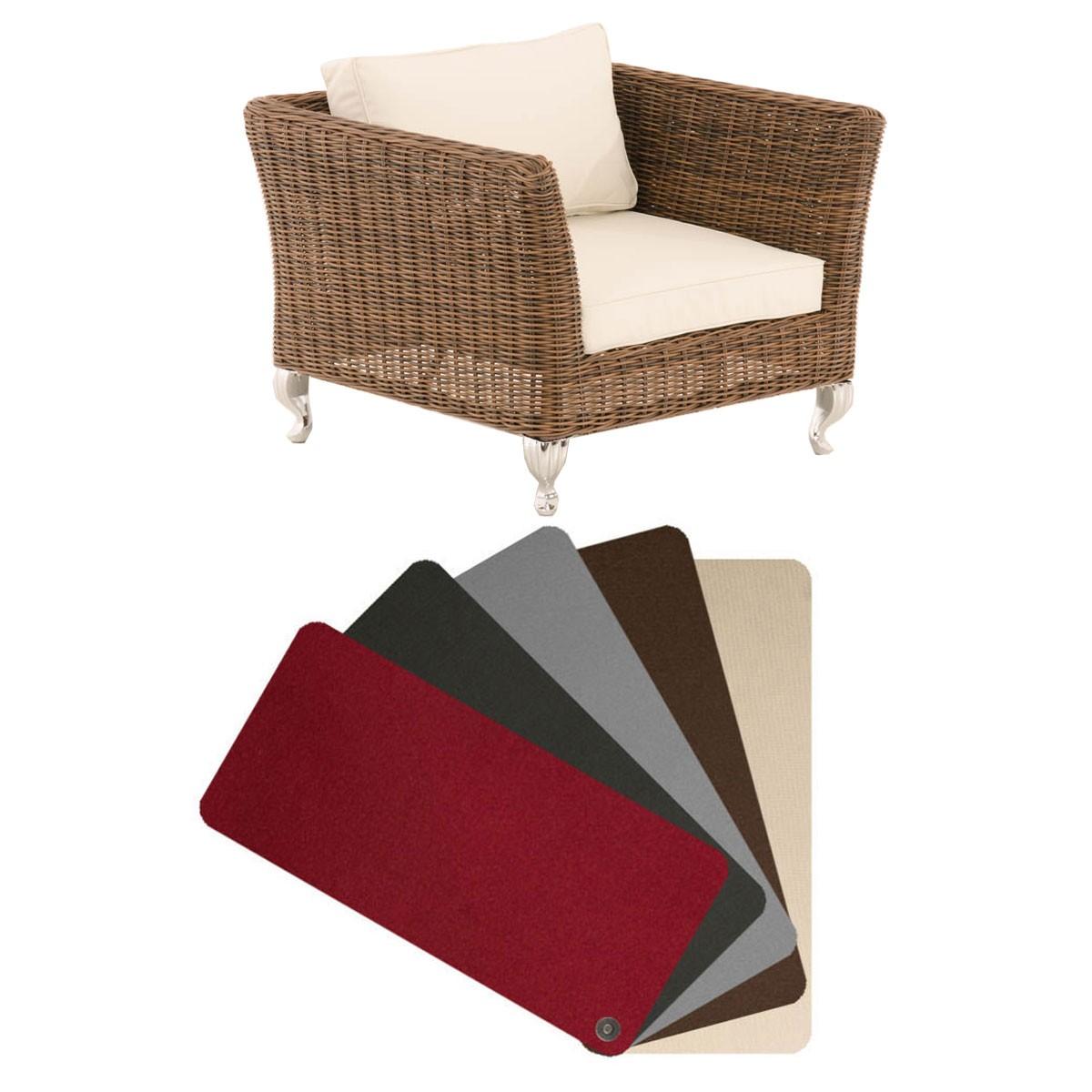 Kussenhoes fauteuil Moss