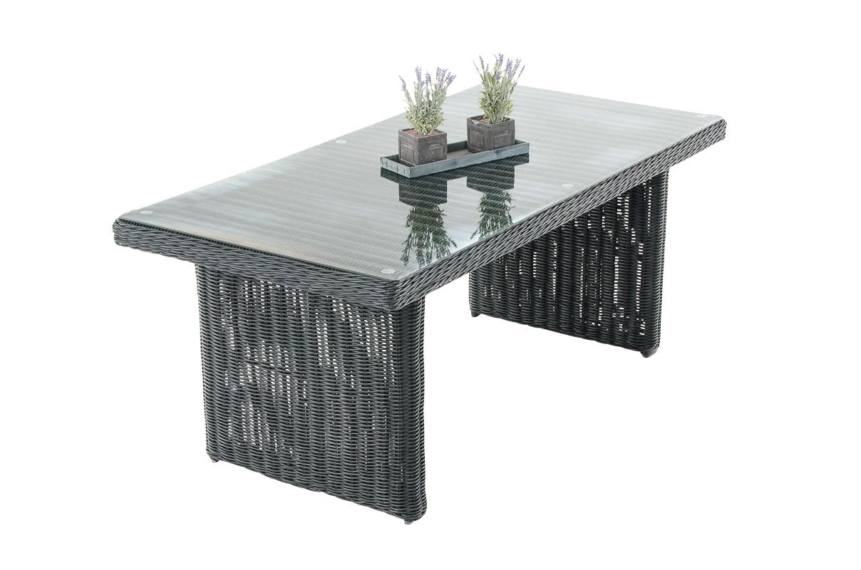 Wicker tafel Fontana