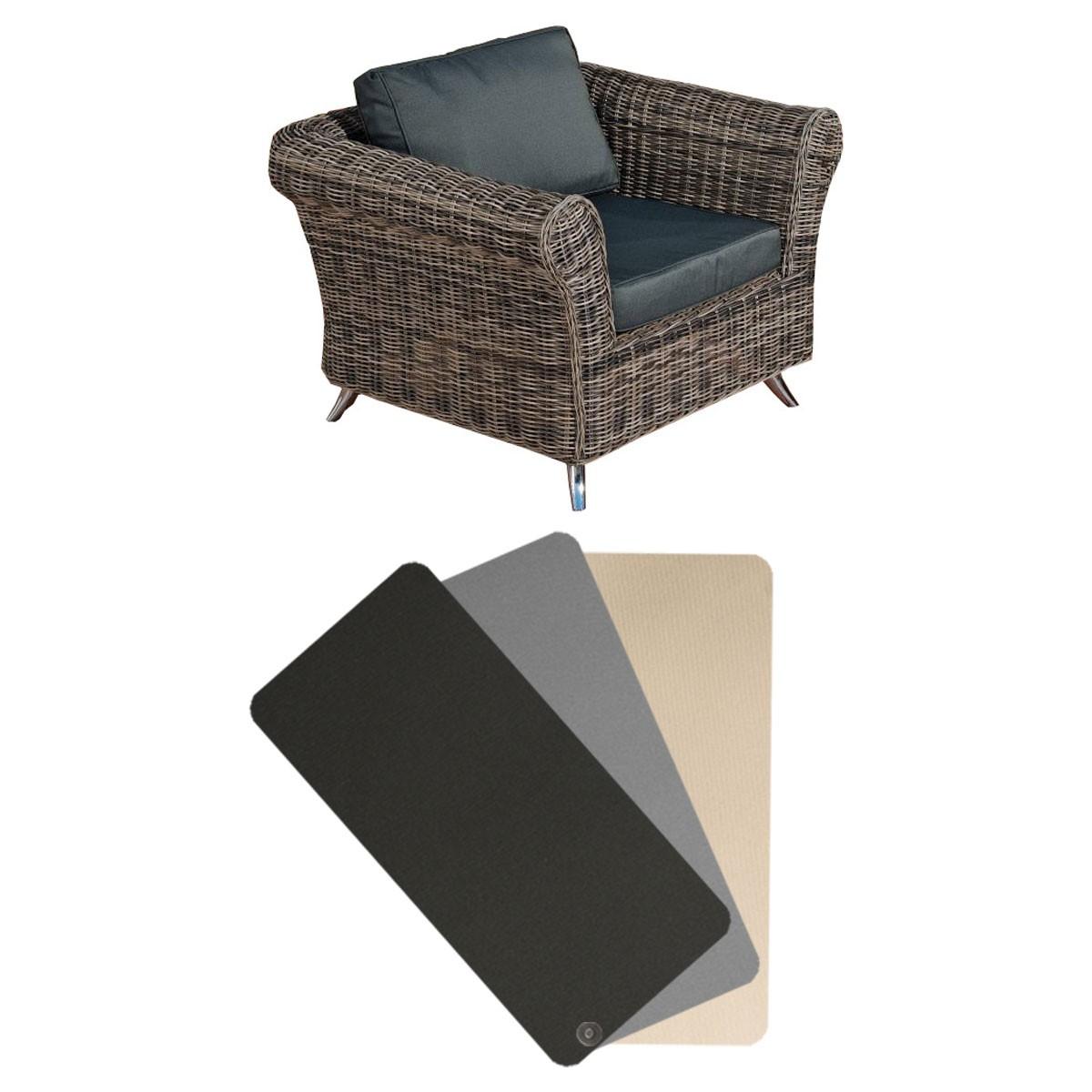 Kussenhoes fauteuil Vivari