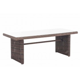 Wicker tafel Fontana XL
