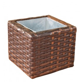 Wicker Bloembak Laura S