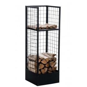 Brandhoutrek Forrest,120 x 40 x 40 cm metaal