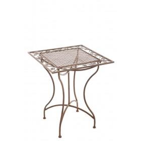 IJzeren tafel Asina 60 x 60 cm