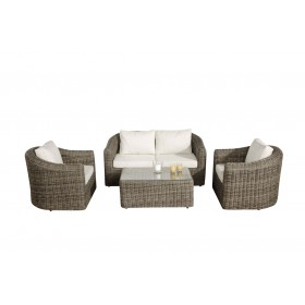 Wicker Loungeset BERGEN