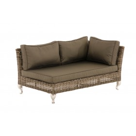 Wicker Hoekbank Moss