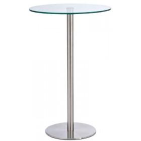 Glazen tafel Ben 110 RVS