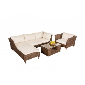 Wicker Loungeset MOSS
